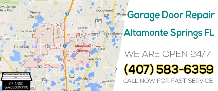 Garage Door Repair Altamote Springs Fl Pro Garage Door
