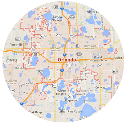 Orlando Garage Door Service Areas